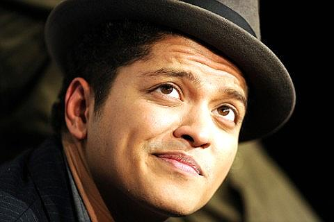 Bruno Mars concert in Oslo November 2013