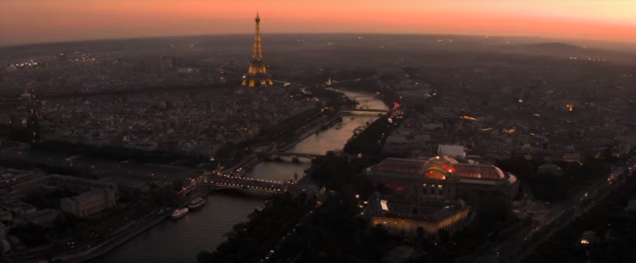 A picture of Paris from Mission Impossible: Fallout